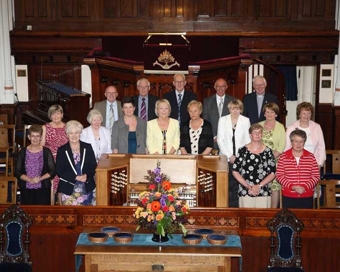 Carlisle Road Presbyterian Church 2013 Choir Photo